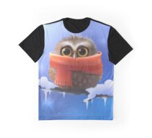 Owl with scarf Graphic T-Shirt