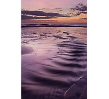sunrise, forvie sands Photographic Print