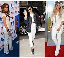 Primodels Review-Tips for Wearing White Jeans by primodels