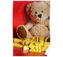 Little Brown Bear Poster
