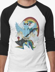 A dashing flying solo! Men's Baseball ¾ T-Shirt