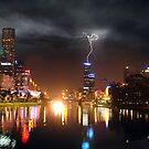 Melbourne Storm Front by Steven  Sandner
