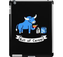 Bull of Cereal iPad Case/Skin