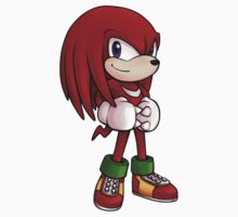 Knuckles the Echidna by Vanesa Aguilar