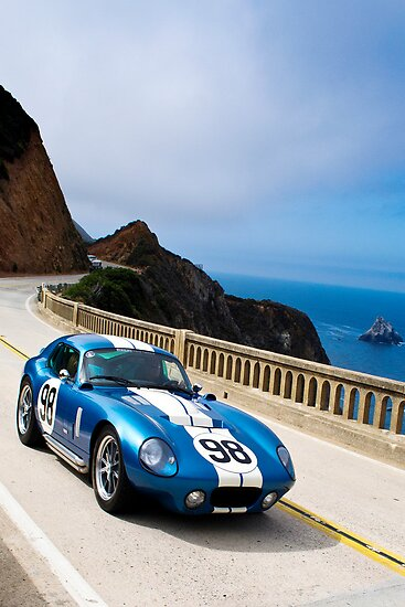 Cobra Daytona at Speed by RoySorenson