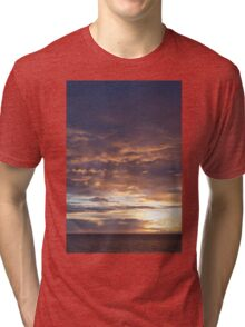 north sea sunrise Tri-blend T-Shirt