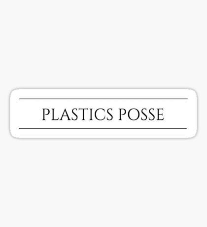 Grey's Anatomy Plastics Posse Sticker
