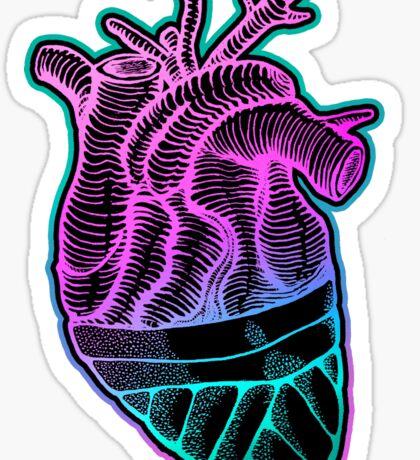 Blindfolded Heart  Sticker