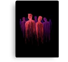 People of the Dark Canvas Print