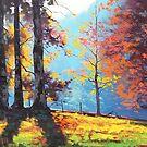 Sunlit Hill by Graham Gercken