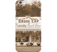 Route 66 Delgadillo's Snow Cap Drive-in iPhone Case/Skin