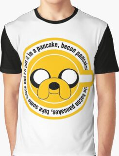 The dog in the Pancakes Graphic T-Shirt