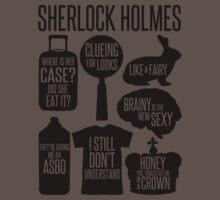 Sherlock Quotes Baby Tee
