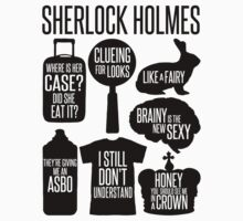 Sherlock Quotes Kids Tee