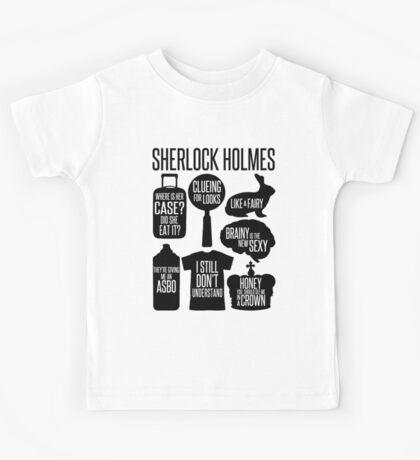 Sherlock Quotes Kids Tee