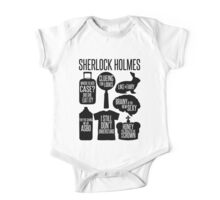 Sherlock Quotes One Piece - Short Sleeve
