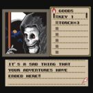 Shadowgate Death Screen by Mirisha