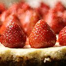 Strawberry Cheesecake by Astrid Ewing Photography