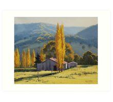 Tarana Farm Art Print