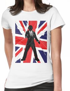 Made In Britain: James Bond, 007 Womens Fitted T-Shirt