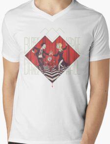 BLACK LODGE DANCE HALL Mens V-Neck T-Shirt