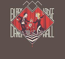 BLACK LODGE DANCE HALL Mens V-Neck T-Shirt