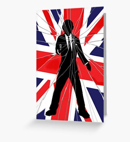 Made In Britain: James Bond, 007 Greeting Card