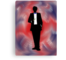 Made In Britain: Doctor Who Canvas Print