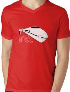 Bullet Train Mens V-Neck T-Shirt