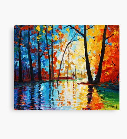 Street Colors Canvas Print