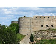 loopholes on fortress wall Photographic Print