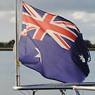 Seafaring Australian Flag by Heather Samsa