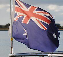 Seafaring Australian Flag by Heather Samsa