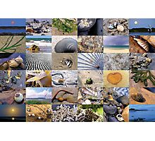 Beach Collage Photographic Print