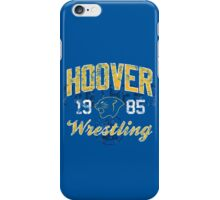 Hoover Wrestling 3 iPhone Case/Skin