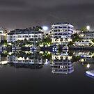The Basin at V&A Waterfront (Night time) by DeoVolente (Dewahl Visser)