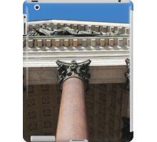 columns and portico iPad Case/Skin