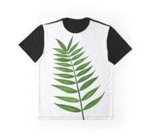 Leaf Print - 3 Graphic T-Shirt