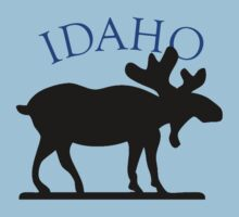 Idaho Moose Kids Clothes