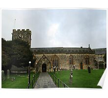 Uplyme Church , Devon UK - November 26TH 2012 Poster