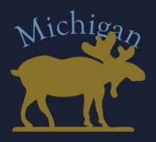 Michigan Moose Kids Tee