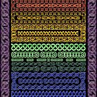 Crystal Celtic Borders by MaryJaneBayliss