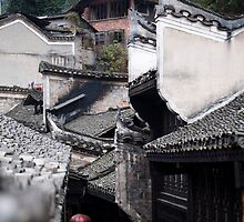 Roof Tops by Yincinerate