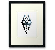 Skyrim Dragon Framed Print