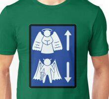 Metaphysical Direction Sign Unisex T-Shirt