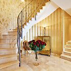 Golden Stairs - Real Estate Photography by Philip  Rogan
