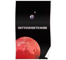 Get Your Ass To Mars Poster