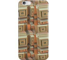 Cool Constractions, Abstract 3-d Fractal case iPhone Case/Skin
