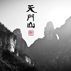 Tianmen Mountain by Yincinerate
