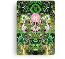 Forest Lotus Canvas Print
